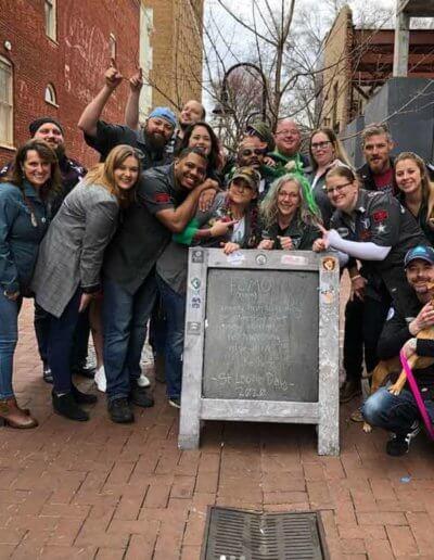 Team at Jack Brown's Charlottesville, VA