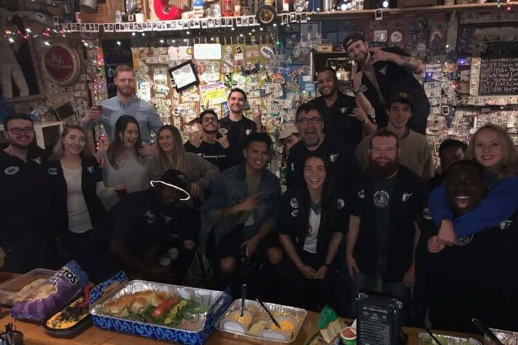 Picture of the staff at Jack Brown's